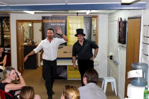 Auctioneers in Action